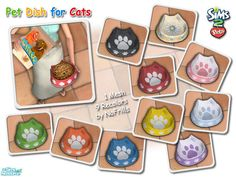 NoFrills' Pet Dish for Cats (Mesh & Recolors) The Sims 2, Sims Cc, Cat Sim, Sims 2 Pets, Pet 1, Buy Pets, Sims Community, Sims Resource, Sims 4 Custom Content
