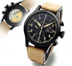 Steinhart swiss made pilot's watch; Nav B-Chrono II; 47mm