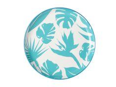 Paradiso Plate 25cm Silhouette Blue – Christopher Vine
