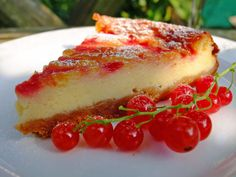 Redcurrant Ripple Cheesecake by me on Great British Chefs http://www.greatbritishchefs.com/community/redcurrant-ripple-baked-cheesecake-recipe