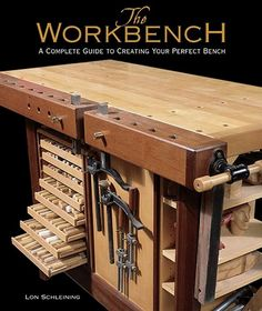 Woodworking Shop 50 woodworking workbench woodworking projects Easy Woodworking Bench Ideas For Garage Spaces Woodworking Bench Plans, Workbench Plans, Woodworking Books, Woodworking Workbench, Easy Woodworking Projects, Woodworking Furniture, Wood Projects, Garage Workbench, Woodworking Classes