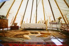 Enchanting Backyard Teepee Wedding photographed by The Goodness and overflowing with personal details including handmade Tee Pees. Native American Teepee, Yurt Living, Teen Bedroom Designs, Girls Bedroom, Outdoor Movie Nights, Hanging Hammock Chair, Luxury Tents, Camping Glamping, Yurts