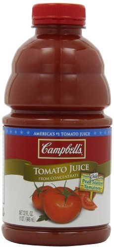 Campbell's Tomato Juice, 32 Ounce (Pack of 8) ** You can find more details by visiting the image link.