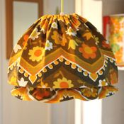 """Image of 1970s Lucy """"mop cap"""" lampshade"""