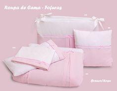Linha de Quarto de Bebé Rosa/ Baby bed line Pink/ Ligne de lit bébé Rose
