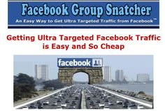 I will give you Facebook Group Snatcher App with Tutorial for $5
