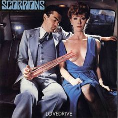 Lovedrive, by the German heavy metal band Scorpions. Cover designed by Storm Thorgerson of Hipgnosis. Released in 1979 Storm Thorgerson, Heavy Metal, Black Metal, Rock Album Covers, Worst Album Covers, Classic Album Covers, Scorpions Album Covers, Scorpions Albums, Cover Art