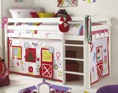weiß rot kinderbett wohnideen für kinderzimmer universal design