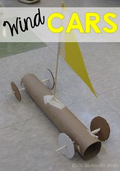 STEM Challenge: Just in time for the windy month of March is a series of STEM events including this one about making a car powered by the wind!