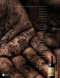 Villa Antinori #wine #advertisement