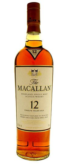 "The Macallan 12. My ""GoTo"" single malt. Sherry cask aged"