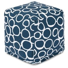 Majestic Home Goods 85907236045 Fusion Navy Cube