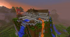 awesome minecraft houses | Amazing holiday house Minecraft Project