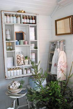 Have similar bathroom shelf. . . .