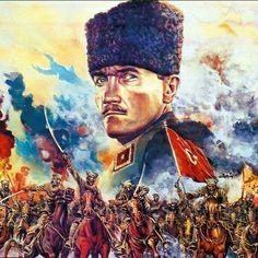 Mustafa Kemal Paşa - Hobbies paining body for kids and adult Mustafa Kemal Paşa, Watercolor, Painter, Painting, Oil Painting, Art, Daydream