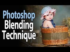 Easy Blending Technique For Color Matching Digital Backgrounds and Props - Photoshop Tutorial - YouTube