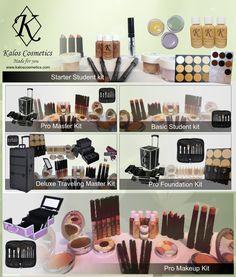 Kalos Cosmetics Makeup Artist Kits for every budget!