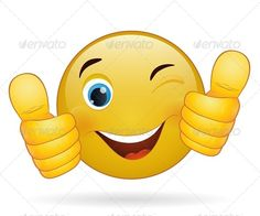 There are various ways in which you can speak victory through emoticons- one such is the thumbs up emoji. Angel Emoticon, Happy Emoticon, Happy Smiley Face, Emoticon Feliz, Big Emoji, Emoji Set, Smiley Emoji, Thinking Emoticon, Emoji Signs
