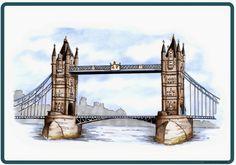 Flashcards/Bildkarten mit Londoner Sehenswürdigkeiten Nach den Ferien beginne ich in Englisch nach einer Wiederholungsrunde mit dem Them...