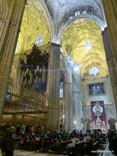 Catedral de Sevilla.Andalucia.España........