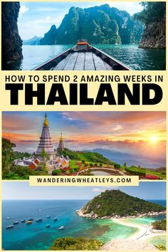 Planning travel to Thailand? Here's the Perfect 2-Week Thailand Itinerary, including Bangkok, Chiang Mai, and more! I things to do in Thailand I places to go in Thailand I what to do in Thailand I Thailand destinations I things to do in Bangkok I where to go in Thailand I Thailand travel I I itinerary for Thailand I Thailand attractions I 2 weeks in Thailand I Thailand 2 week itinerary I things to do in Chiang Mai I islands in Thailand I places to visit in Thailand I #Thailand #travelguide #Asia Thailand Destinations, Thailand Travel Guide, Bangkok Travel, Asia Travel, Travel Destinations, Solo Travel, Backpacking India, Backpacking South America, Paradise Beach Resort