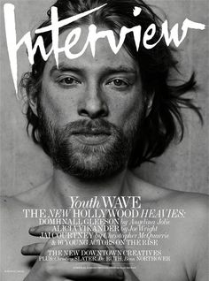 Domhnall Gleeson for Interview June/July 2015 Covers