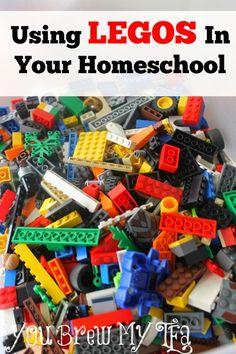 Using Legos In Your Homeschool - You Brew My Tea