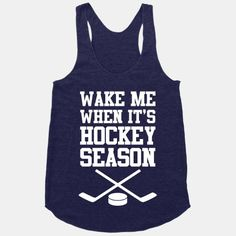 Wake Me When It's Hockey Season