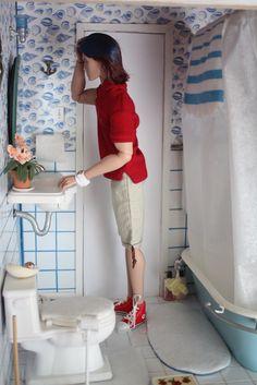 Playscale bathroom