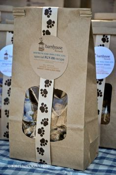 Homemade Dog Treat Packaging | all natural and organic dog treats for your fur family! our barnhouse ...