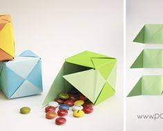 caja de regalo puzzle origami1
