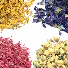 Biodegradable Dried Flowers - Rich Stock - 20 Types Of Flowers and Petals - Craft, Natural Confetti, Potpourri