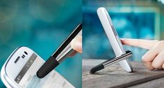 This Smartphone Accessory Works as a Stylus and Stand trendhunter.com
