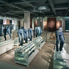 Levi's flagship store in London, pinned by Ton van der Veer