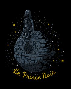 : Le Prince Noir T-Shirt ~ $10 Star Wars tee at ShirtPunch today only!