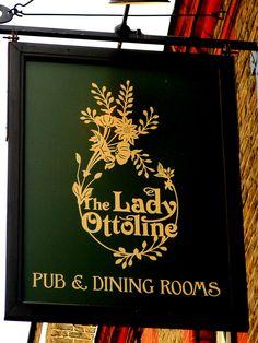 UK Pub Sign