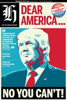 Donald Trump's shocking victory in Wednesday's U.S. presidential election inspired newspapers around the world.