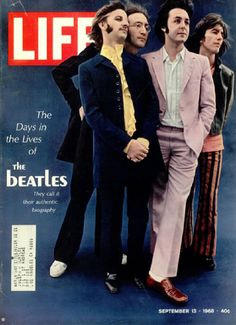 The Beatles - LIFE MAGAZINE cover, SEPTEMBER 13 1968,      7.11. 2015, www.nco.is , IoT www.netkaup.is