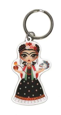 Frida Kahlo Bonito keyring