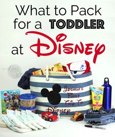 Surviving Disney With Toddlers: What To Pack for Your Day At The Parks  #tinytravelers #ad Disney Day, Disney 2017, Disney Family, Disney Tips, Disney Cruise, Baby Disney, Disney World Outfits, Disney World Vacation, Disney Vacations