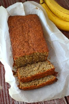Easy Wheat Free Banana Bread  1 cup oat flour ⅓ cup brown rice flour ½ tsp salt ½ tsp baking soda ¼ tsp baking powder ⅓ cup butter or margarine ⅔ cup sugar 2 eggs 1 cup mashed bananas (about 2)