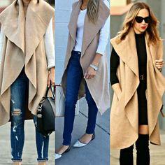 RbyRachaelRae: Easy No-Sew DIY Sleeveless Coat/Vest