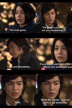 Lee Min Ho Boys Over Flowers.all of his little come backs are just to hilarious and cute Lee Min Ho Boys Over Flowers, Boys Before Flowers, So Ji Sub, Geum Jan Di, Moorim School, Do Bong Soon, Korean Shows, Drama Fever, W Two Worlds