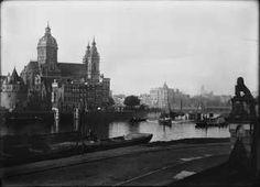Spoorwegviaduct Oostertoegang Centraal Station 1891, Amsterdam. Jacob Olie