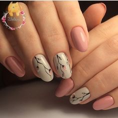 Simple and Cute Nail Art Designs ★ Who doesn't love pink nails? We have picked some nail designs in pink shades that look simply adorable. Fancy Nails, Trendy Nails, Cute Nails, My Nails, Fabulous Nails, Perfect Nails, Perfect Pink, Cherry Blossom Nails, Cherry Blossoms