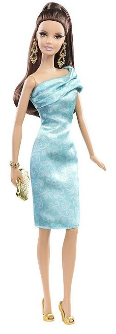 A cocktail Dress for one new Barbie 2014 Look.