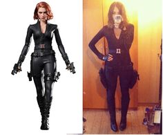 How to make a marvel black widow costume - photo#1