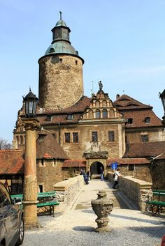 THE front of the CZOCHA CASTLE