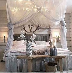 Best 20+ Creative and Simple DIY Bedroom Canopy Ideas on A Budget https://fancydecors.co/2017/08/15/20-creative-simple-diy-bedroom-canopy-ideas-budget/ Today, to assist you in making tent on a budget. A canopy doesn't always need to be showy. This canopy uses distinct panels of material that just goes to demonstrate that you don't need to stick with only one plain color. You may see the method...