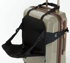 BRILLIANT. Lugabug converts any bag into a ride-on suitcase for toddlers